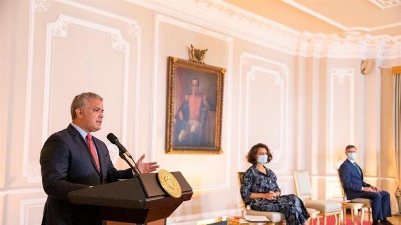 """Duque diz que não descansará enquanto Venezuela não tiver """"liberdade real"""""""