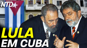 Lula em Cuba
