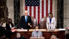 Congresso certifica votos eleitorais a favor de Biden