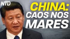 China: caos nos mares