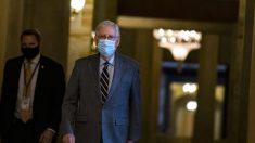 McConnell critica a política energética de Biden, chamando-a de um 'novo acordo verde fragmentado'