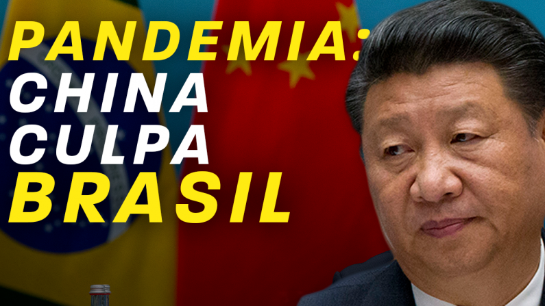 Pandemia: China culpa Brasil