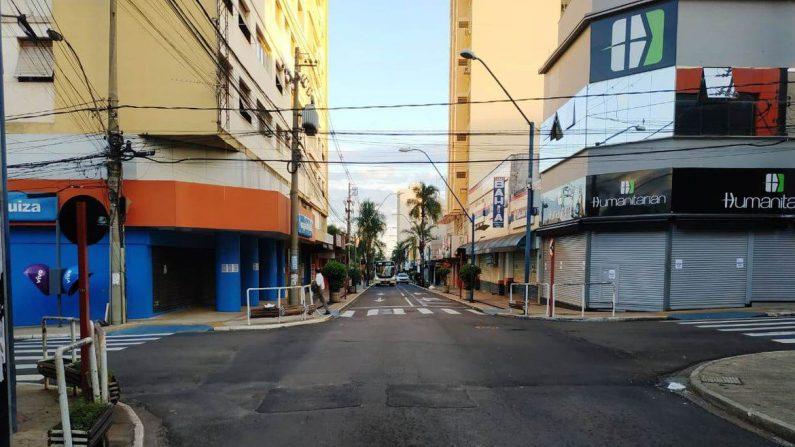Araraquara entra em lockdown total para tentar frear disseminação de covid-19