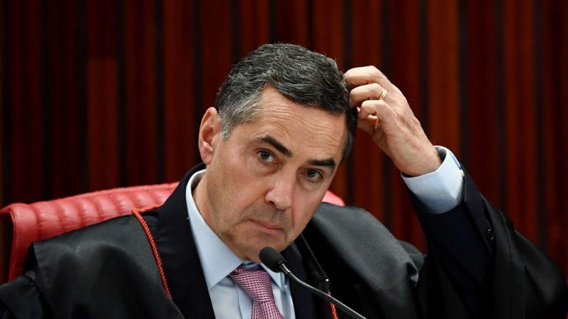 Rejeição ao ministro Barroso cresce nas redes sociais