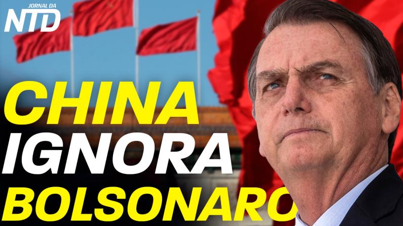 China ignora Bolsonaro