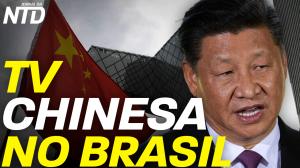 TV chinesa no Brasil