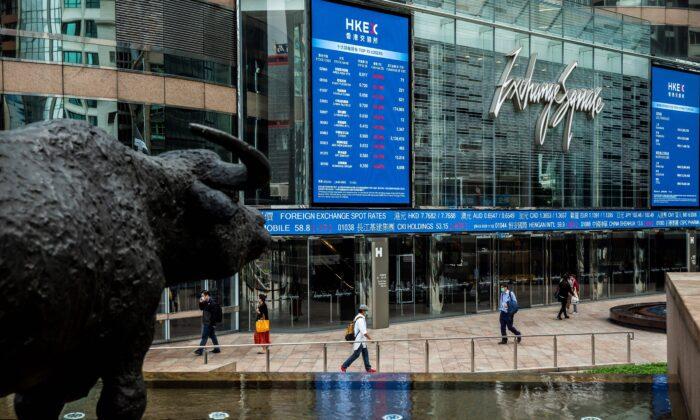 Dinheiro chinês invade Hong Kong, convertendo a região em um paraíso de apostas na bolsa