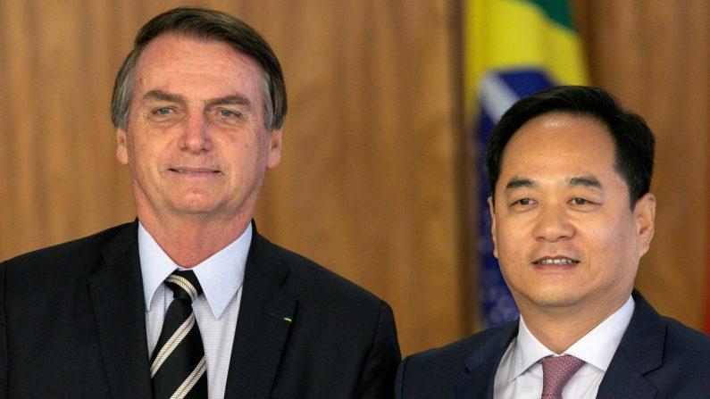 China ignora pedidos de Bolsonaro por troca de embaixador no Brasil