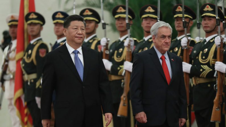 Avanços chineses no Chile