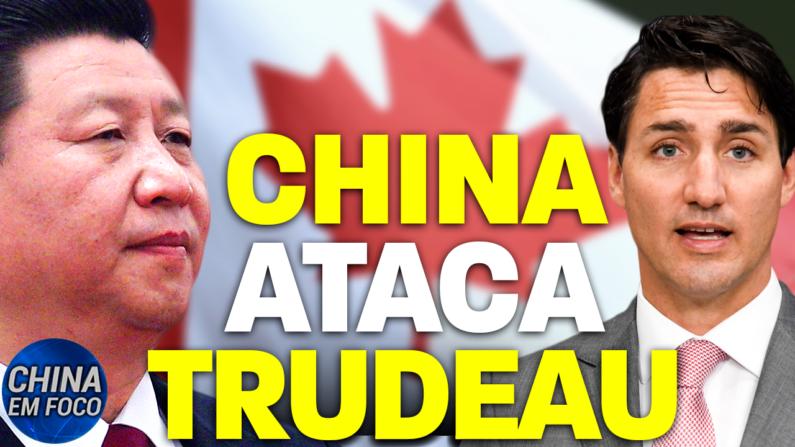 Um Cônsul-geral chinês ataca o Canadá.