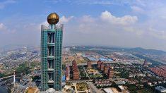 'Vila mais rica' da China em crise financeira