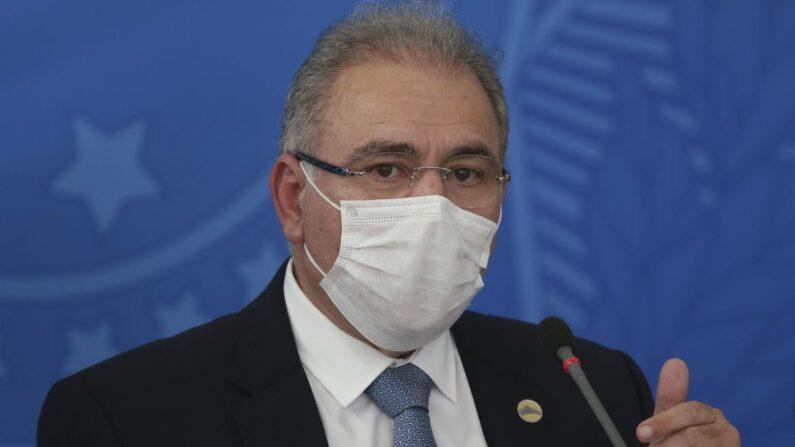 Queiroga quer encerrar uso da CoronaVac no país