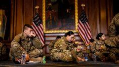Mais de 12 soldados estacionados no Capitólio estão doentes após terem recebido comida de má qualidade