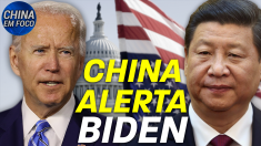 China alerta Biden