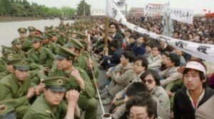 O choque do 'caráter do partido' e da natureza humana no Tiananmen