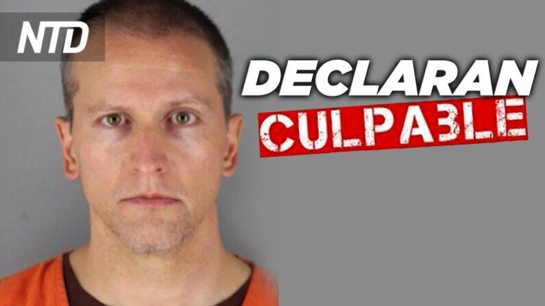 Derek Chauvin é considerado culpado de todas as acusações na morte de George Floyd