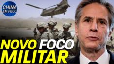 Os EUA mudam seu foco do Afeganistão para a China e retiram tropas da região
