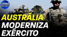 580 milhões de dólares americanos destinados a modernizar as forças armadas da Austrália. 4 bases militares ao norte serão renovadas.
