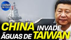 Novas manobras militares chinesas estão causando mais tensão no Estreito de Taiwan.