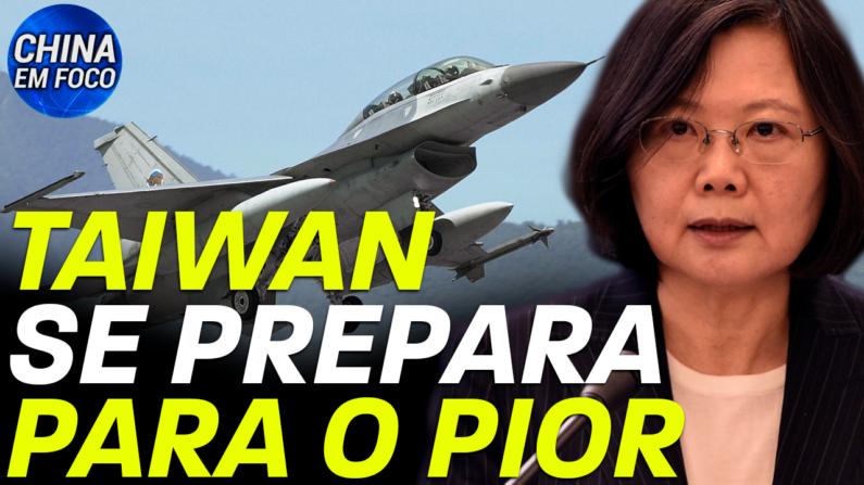Grandes exercícios militares anuais em Taiwan