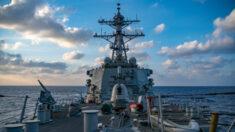 Destróier dos EUA retorna às águas das ilhas Paracel em apoio à liberdade de navegação