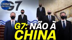 Os ministros do G7 estão expressando preocupações sobre violações de direitos humanos na China