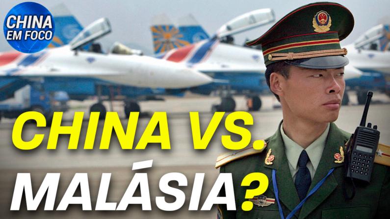 Caças chineses invadem espaço malásio