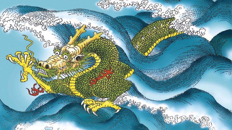 A História de Sun Simiao (Parte 4): recompensado por curar um dragão feroz