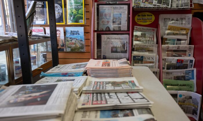 Estados Unidos ocupa o último lugar em confiança em meios de comunicação, revela relatório