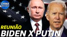 Reunião entre Biden e Putin se aproxima