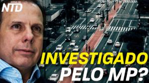 Governador de São Paulo questionado sobre possíveis relações de favorecimento