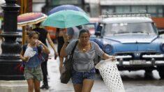 Olho da tempestade tropical Elsa está muito perto da costa cubana