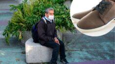 Jovem mexicana compra sapatos para vovô que perguntou se vendiam calçados usados: 'Fiz de coração'