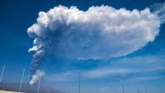 Nova erupção do Etna força o fechamento do aeroporto italiano de Catânia