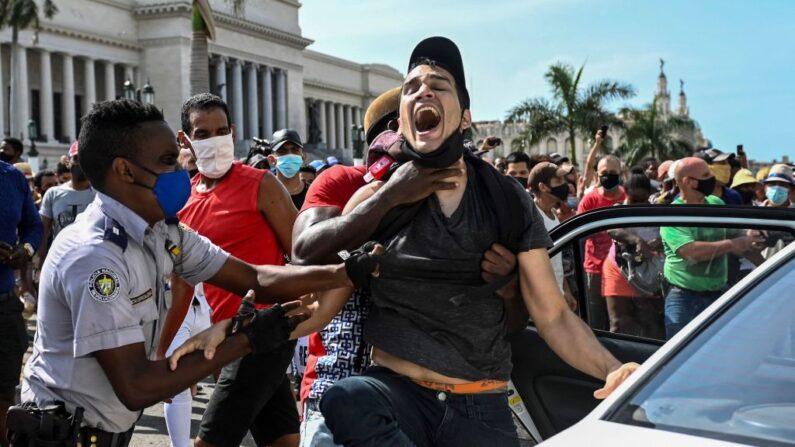 537 detidos foram registrados desde o começo dos protestos em Cuba, incluindo menores
