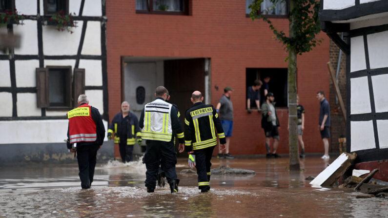Sobe para 103 o número de mortos em inundações no oeste da Alemanha