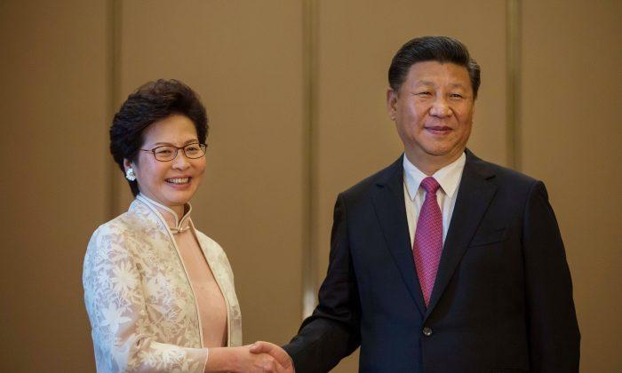 Xi Jinping e a líder de HK Carrie Lam na lista de predadores da liberdade de imprensa em 2021