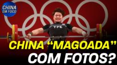 Embaixadas chinesas publicaram notas criticando os Jogos Olímpicos no Japão, mas por um motivo incomum que gerou furor entre internautas.
