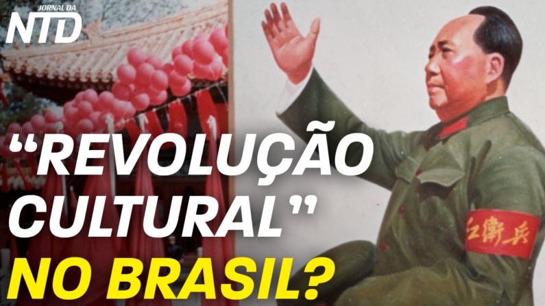 """Estátua incendiada em São Paulo; """"Revolução Cultural"""" no Brasil?"""
