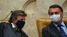 Ministro Luiz Fux se reúne com Bolsonaro