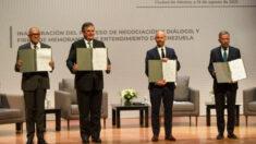 Regime de Maduro e oposição começam diálogo de sete pontos na Cidade do México
