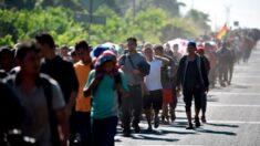 Caravana de migrantes deixa sul do México em direção aos Estados Unidos