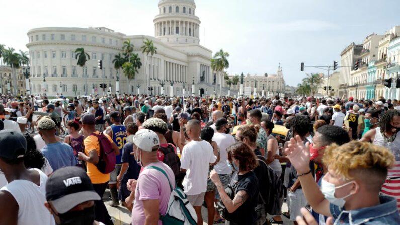 Cuba conta com 62 acusados nos julgamentos dos protestos de julho