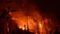Avanço das chamas na Califórnia força a evacuação de uma cidade inteira