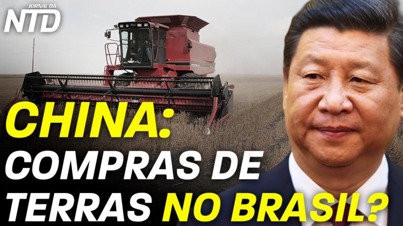 Brasileiros preocupam-se com possibilidade de compra de Terras pela China ser facilitada no Brasil
