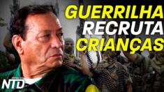 18 mil crianças recrutadas pelas FARC