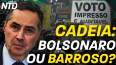 Na cadeia, Bolsonaro ou Barroso?