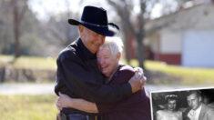 Casal que se conheceu nos anos 50 obtém a primeira sessão de fotos após 60 anos de casamento