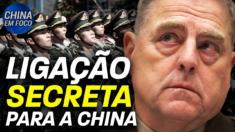 General americano faz telefonemas secretos para a China