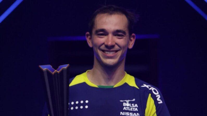 Tênis de mesa: Hugo Calderano conquista maior título da carreira